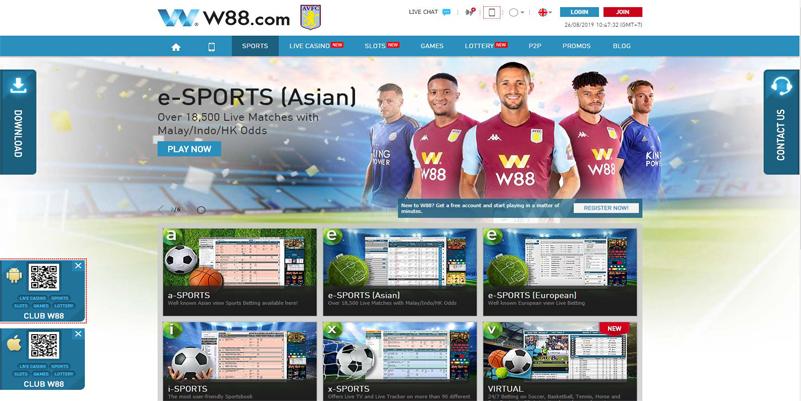 W88-sports