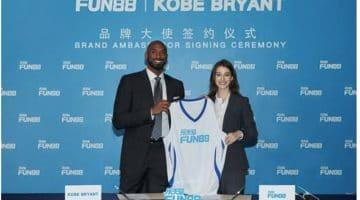 Kobe Bryant becomes brand ambassador for fun88
