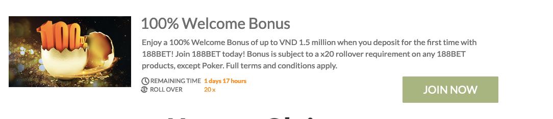 100-welcome-bonus-at-188BET