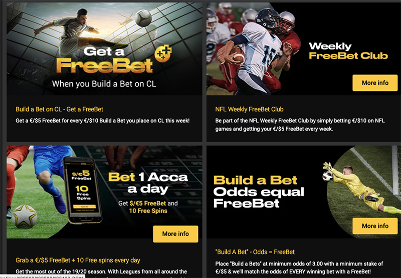 Bwin promotions