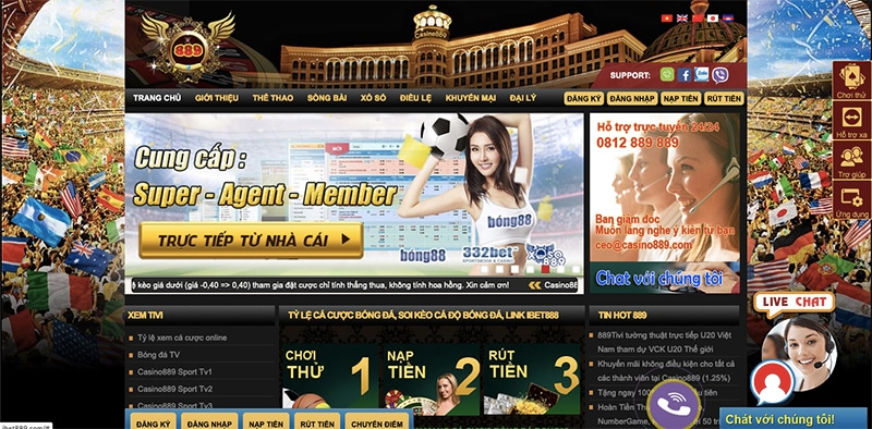 casino889 promotion and bonus
